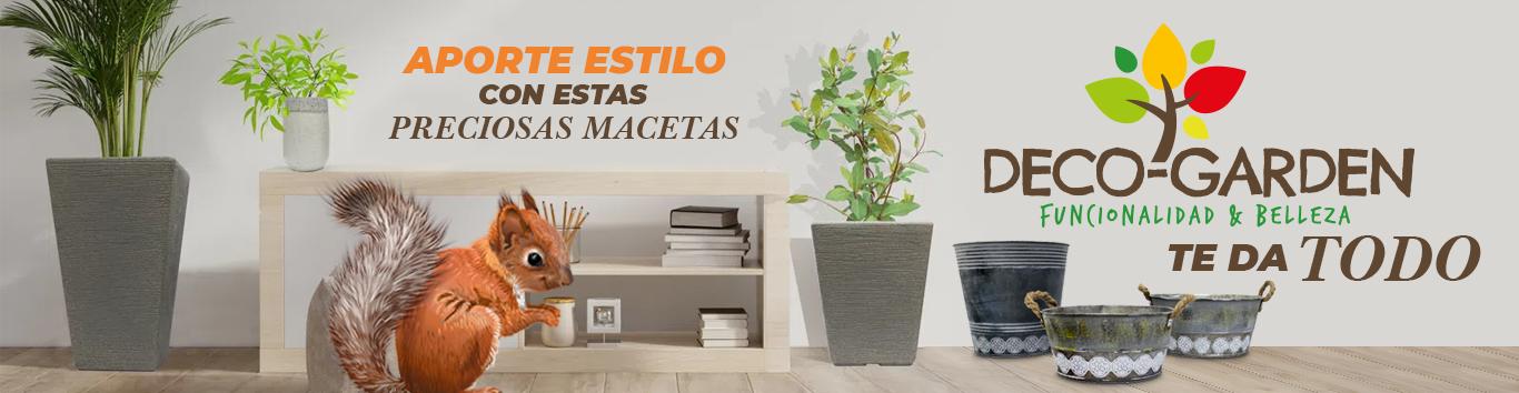 Banner macetas